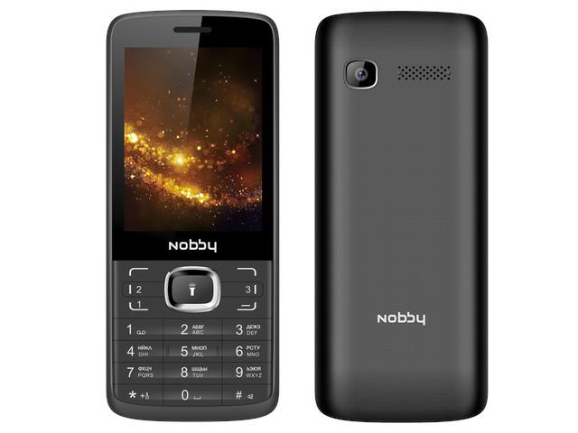 Сотовый телефон Nobby 330T Black-Grey сотовый телефон bq 2808 telly black grey