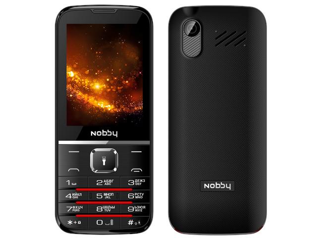 Сотовый телефон Nobby 310 Black-Grey