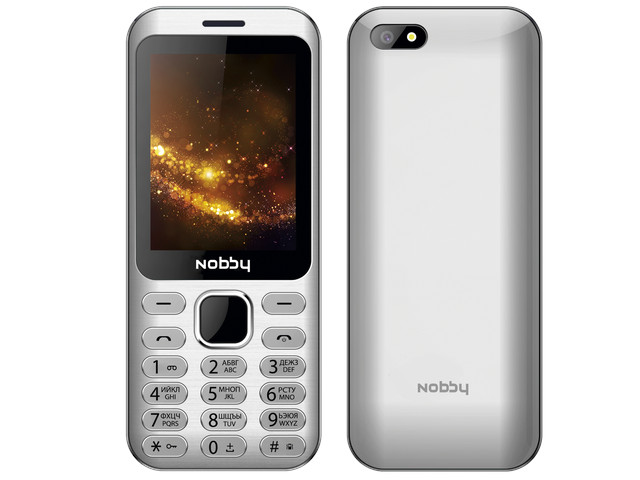 Сотовый телефон Nobby 320 Silver