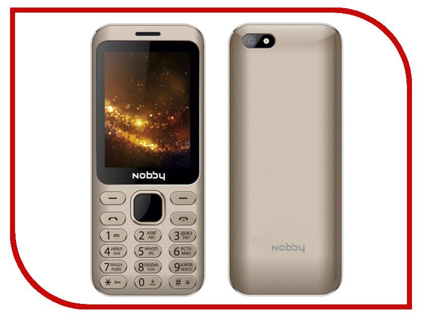 Сотовый телефон Nobby 320 Gold телефон