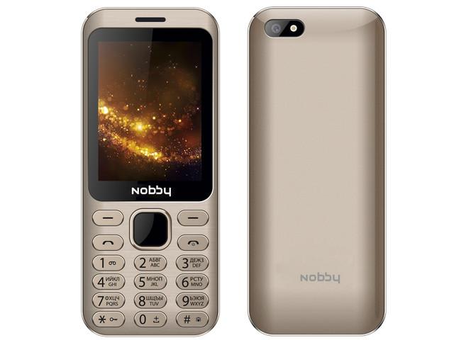 Сотовый телефон Nobby 320 Gold