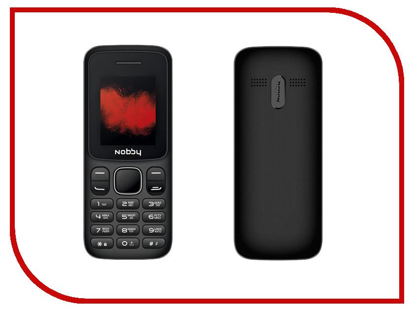 Сотовый телефон Nobby 100 Black-Grey телефон