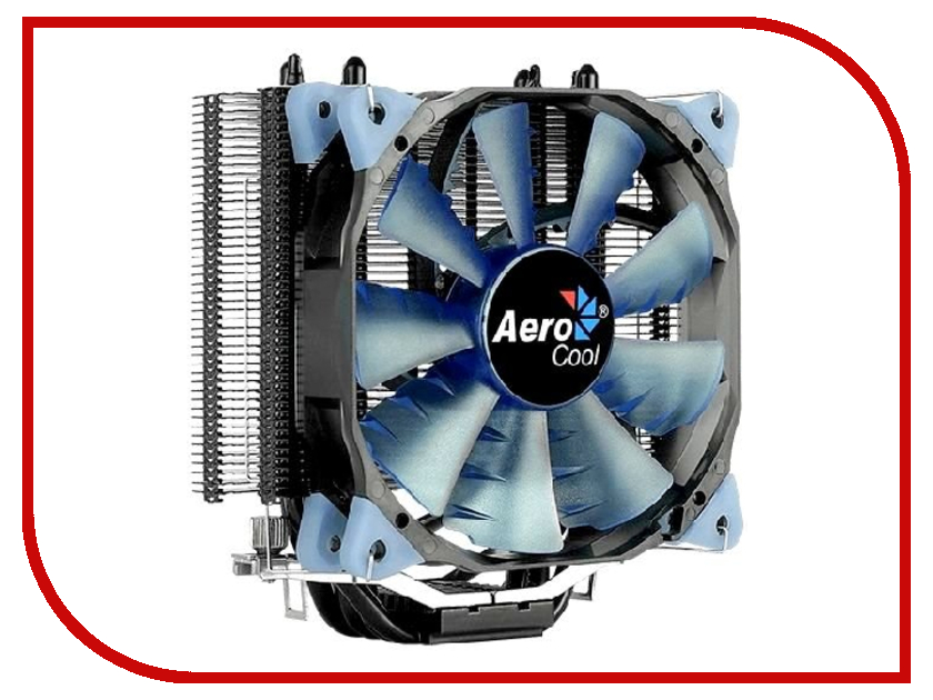 Кулер AeroCool Verkho 4 Dark (Intel LGA2066/2011/1156/1155/1151/1150/775/ AMD AM4/AM3+/AM3/AM2+/AM2/FM2/FM1) кулер aerocool verkho i