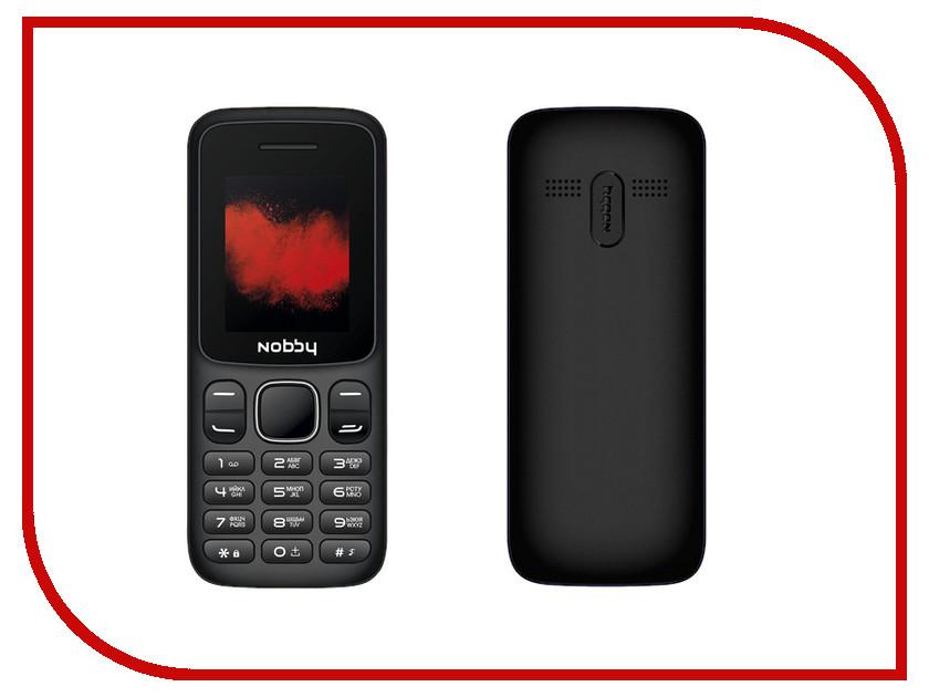 Сотовый телефон Nobby 100 Black сотовый телефон archos sense 55dc 503438