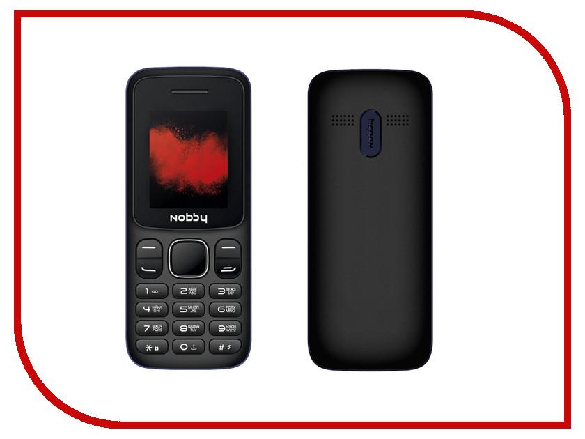 Фото - Сотовый телефон Nobby 100 Black-Blue проводной и dect телефон foreign products vtech ds6671 3