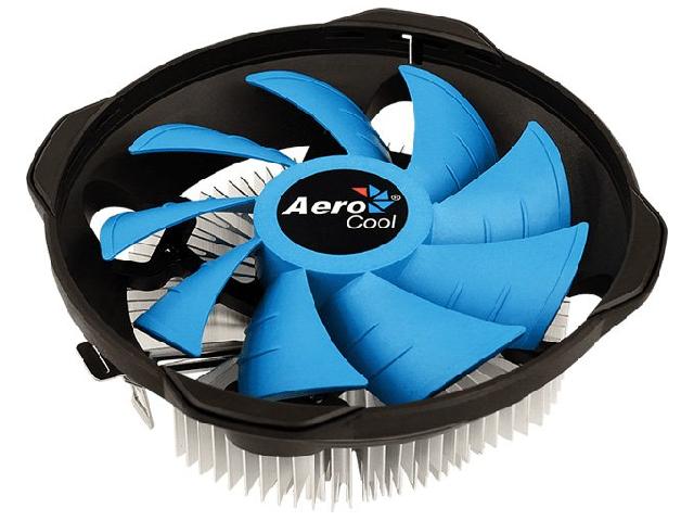 Кулер AeroCool BAS U / U-3P (Intel LGA1156/1155/1151/1150/775/ AMD AM4/AM3+/AM3/AM2+/AM2/FM2/FM1)