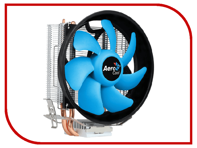 Кулер AeroCool Verkho 2 Plus (Intel LGA1156/1155/1151/1150/775/ AMD AM4/AM3+/AM3/AM2+/AM2/FM2/FM1) кулер aerocool verkho i