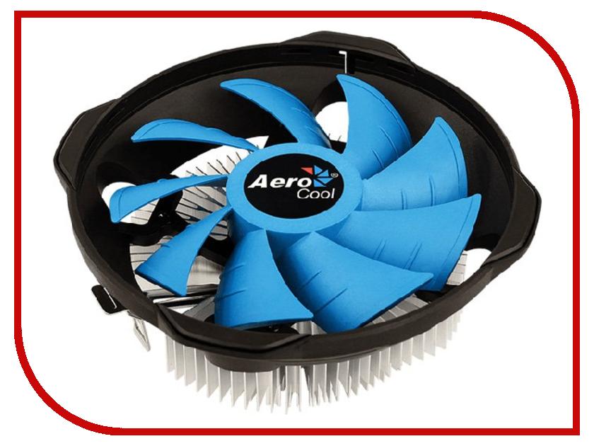Кулер AeroCool BAS U-PWM (Intel LGA1156/1155/1151/1150/775/ AMD AM4/AM3+/AM3/AM2+/AM2/FM2/FM1) кулер aerocool verkho a 3p amd am4 am3 am3 am2 am2 fm2 fm1