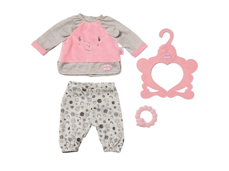 Одежда для куклы Zapf Creation Пижама для куклы My Firs Baby Annabell 700822 zapf creation одежда для куклы my first baby annabell zapf creation розового цвета 36 см