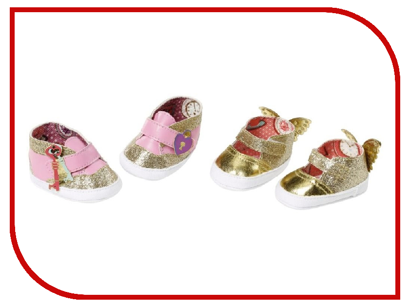 Ботиночки для куклы Zapf Creation Baby Annabell 700-853 zapf creation одежда для куклы baby annabell 700 846
