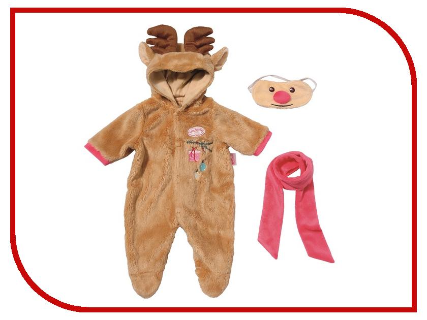 Одежда для куклы Zapf Creation Baby Annabell Костюм Северный олень 701-157 labi baby llbca241 73 100