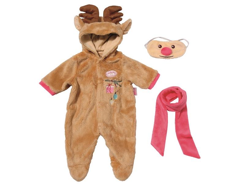 Одежда для куклы Zapf Creation Baby Annabell Костюм Северный олень 701-157