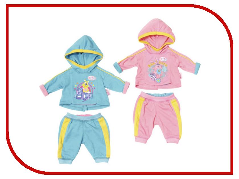 Кукла Одежда для куклы Zapf Creation Baby Born Спортивный костюмчик 823-774 цена