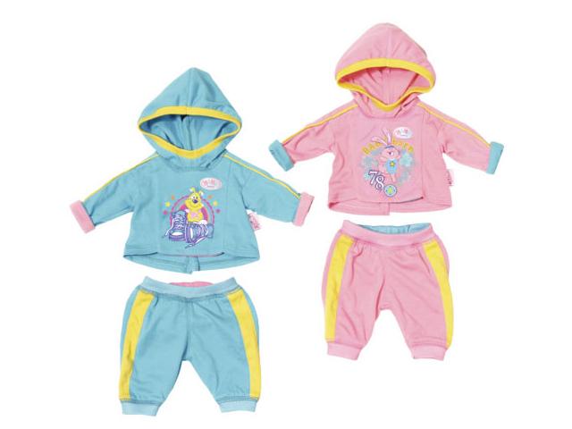 Одежда для куклы Zapf Creation Baby Born Спортивный костюмчик 823-774 zapf creation baby born одежда для велопрогулки 823 705