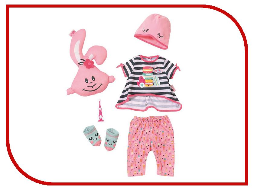 Одежда для куклы Zapf Creation Baby Born Пижамная вечеринка 824-627 кукла zapf creation baby born удобный костюмчик и светлячок ночник 824 818