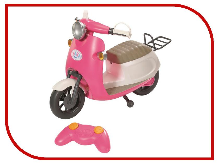 Игрушка Скутер на радиоуправлении для куклы Zapf Creation Baby Born 824-771 скутер на радиоуправлении zapf creation baby born