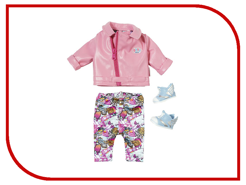 Кукла Одежда для куклы Zapf Creation Baby Born Для скутериста 825-259 zapf creation унитаз для куклы zapf creation baby born