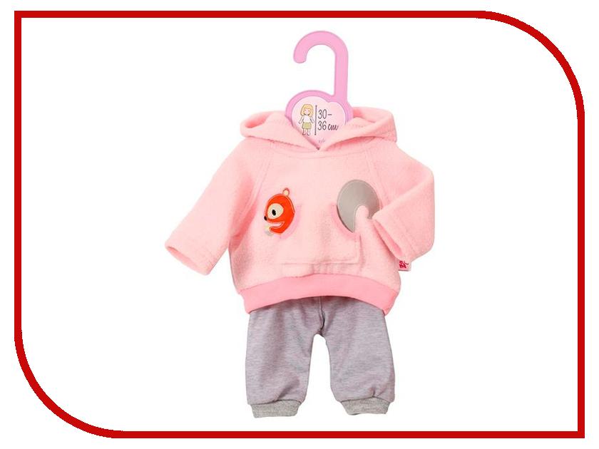 Кукла Одежда для куклы Zapf Creation Тренировочный костюмчик для куклы 870-105 куклы и одежда для кукол precious кукла близко к сердцу 30 см