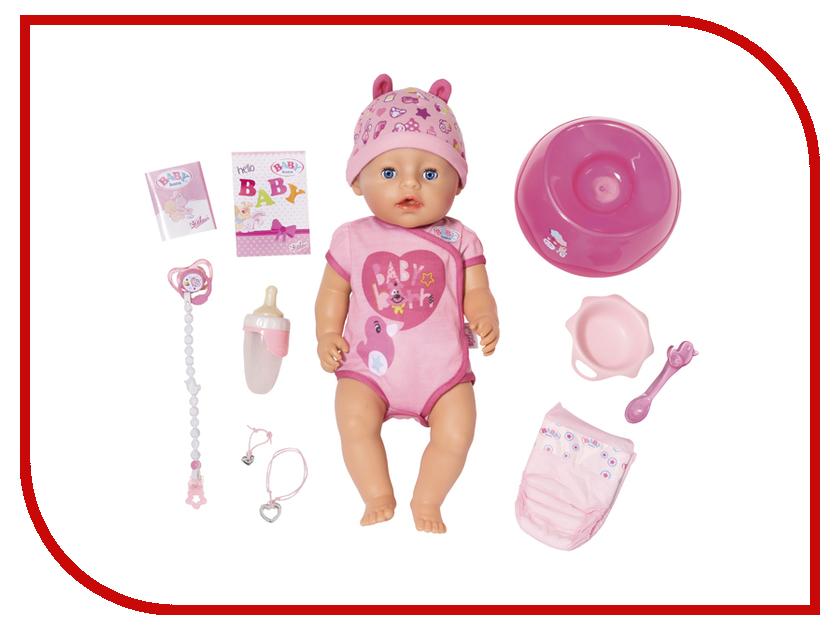 Кукла Zapf Creation Baby Born 825-938 кукла zapf creation baby born набор для празднования дня рождения 825 242