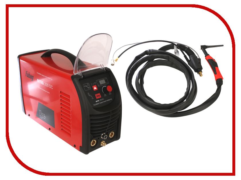 Сварочный аппарат Fubag Intig 200 DC + горелка FB TIG 26 5P 4m 68 437.2 сопло керамическое для газовой линзы 8 ф12 5 fb tig 17 18 26 10 шт