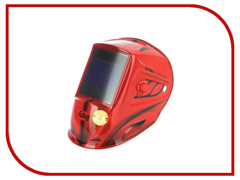 Маска сварщика Fubag Хамелеон Ultima 5-13 Visor Red 38100 маска сварщика fubag ultima 5 13 panoramic red 992510