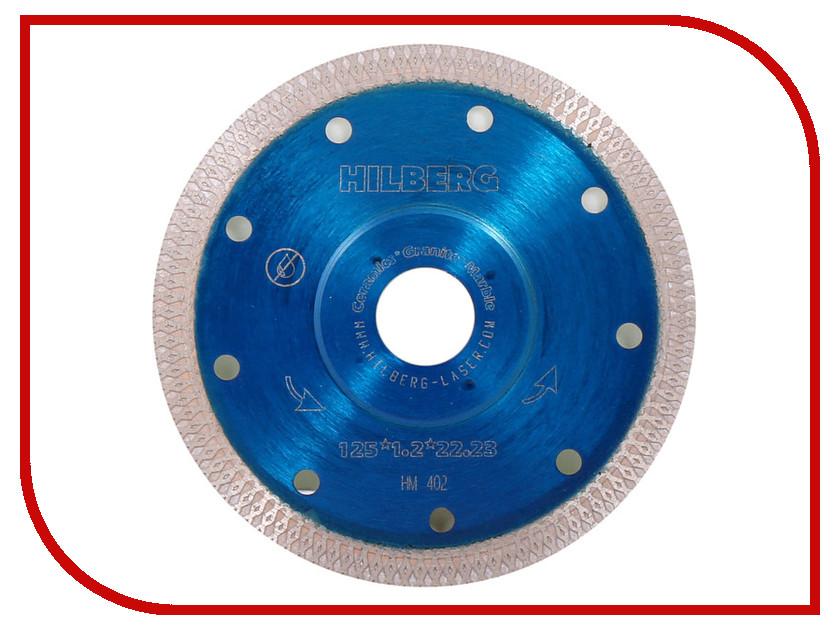 Диск Trio Diamond Hilberg HM402 алмазный по керамограниту 125x10x22.23mm