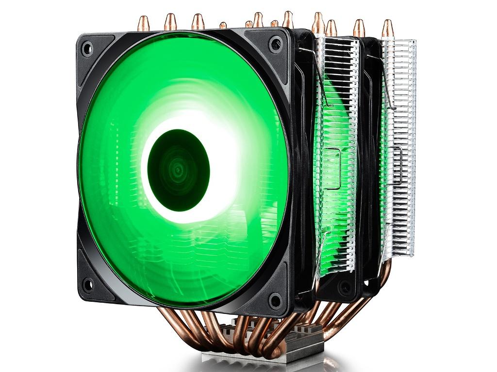 Кулер DeepCool Neptwin RGB ( Intel LGA2066/2011-v3/2011/1151/1150/1155/LGA775/LGA1366 AMD AM4/AM3+/AM3/AM2+/AM2/FM2+/FM2/FM1)