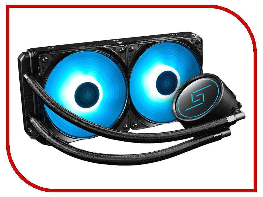 Водяное охлаждение DeepCool Gammaxx L240 ( Intel LGA20XX/LGA1366/LGA115X AMD AM4/AM3+/AM3/AM2+/AM2/FM2+/FM2/FM1) цена