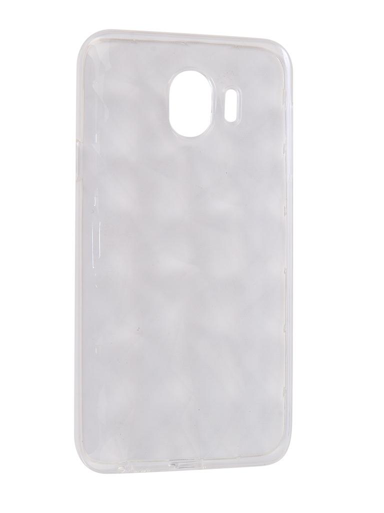 Аксессуар Чехол SkinBox для Samsung Galaxy J4 2018 Slim Silicone Diamond Transparent T-S-SGJ42018-007 t s 450df