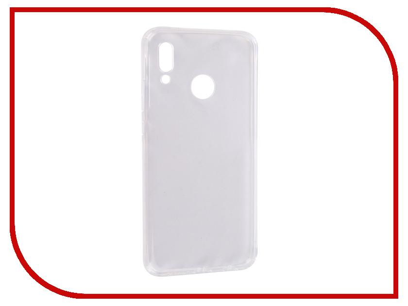 цена Аксессуар Чехол для Huawei P20 Lite/Nova 3E SkinBox Slim Silicone Dustproof Transparent T-S-HP20L-008