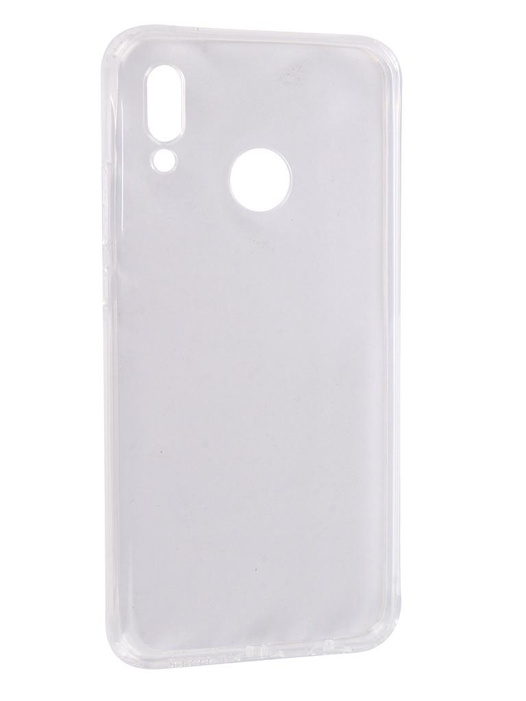 Аксессуар Чехол SkinBox для Huawei P20 Lite/Nova 3E Slim Silicone Dustproof Transparent T-S-HP20L-008