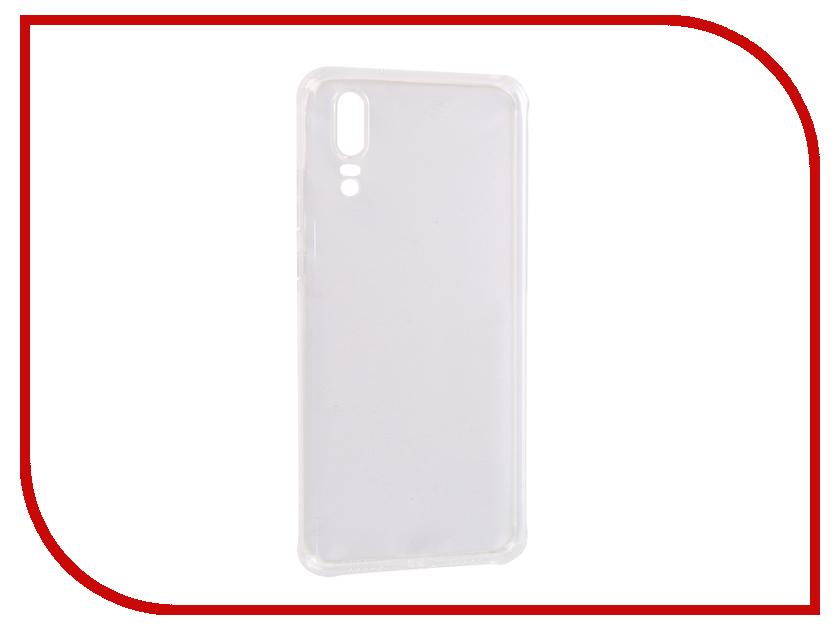 Аксессуар Чехол для Huawei P20 SkinBox Slim Silicone Dustproof Transparent T-S-HP20-008 аксессуар чехол huawei honor 5x skinbox slim silicone transparent t s hh5x 006