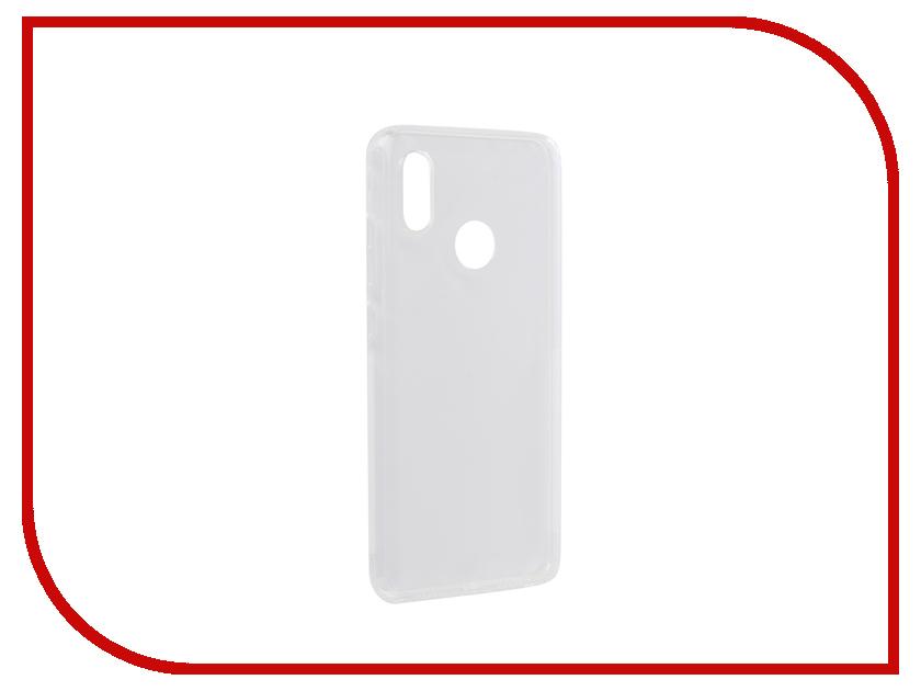 Аксессуар Чехол для Xiaomi Mi 8 SkinBox Slim Silicone Dustproof Transparent T-S-XM8-008 аксессуар чехол huawei honor 5x skinbox slim silicone transparent t s hh5x 006