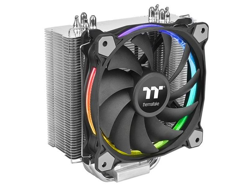 цена на Кулер Thermaltake Riing Silent 12 RGB Sync Edition CL-P052-AL12SW-A (Intel LGA 2066/2011/1366/1150/1155/1156/775 AMD AM4/AM3+/AM3/AM2+/AM2/FM1/FM2)