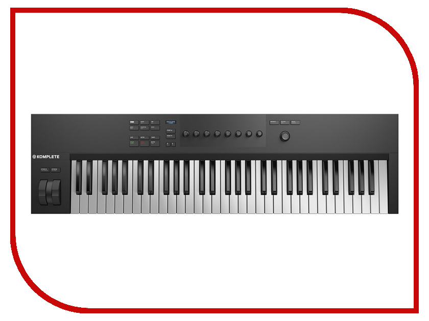 MIDI-клавиатура Native Instruments Komplete Kontrol A61 аудиоинтерфейс native instruments komplete audio 6