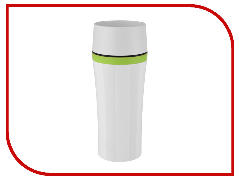 Термокружка Emsa Travel Mug Fun 360ml White-Green 514176