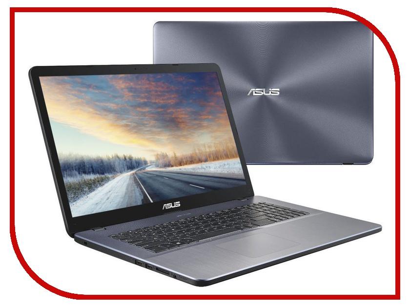 Ноутбук ASUS X705MA-BX041 90NB0IF2-M00690 Grey (Intel Pentium N5000 1.1 GHz/4096Mb/500Gb/No ODD/Intel HD Graphics/Wi-Fi/Bluetooth/Cam/17.3/1600x900/Endless)  - купить со скидкой