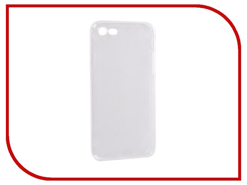 Аксессуар Чехол для APPLE iPhone 7 / 8 SkinBox Slim Silicone Dustproof Transparent T-S-AI7-009 аксессуар чехол huawei honor 5x skinbox slim silicone transparent t s hh5x 006