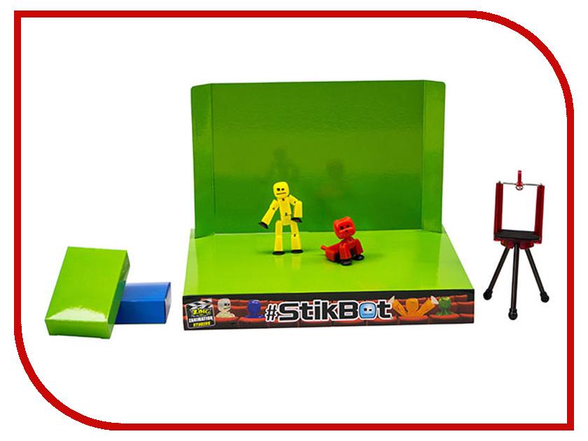 Игрушка Stikbot Анимационная студия со сценой и питомцем TST617A игрушка stikbot фигурка питомца