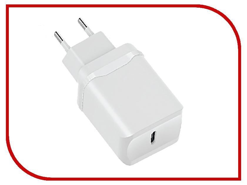 Зарядное устройство Olmio USB Type-C White ПР038734 сетевое зарядное устройство moshi progeo usb type c