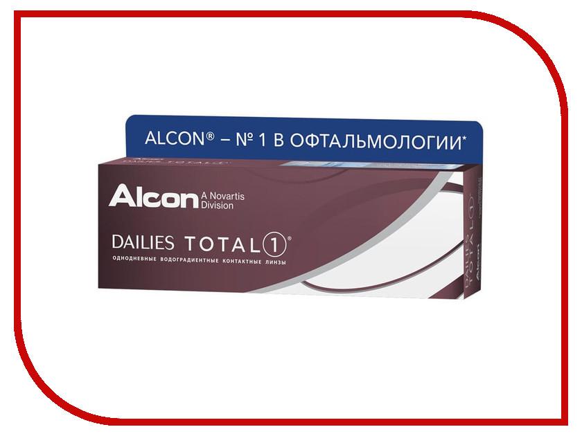 Контактные линзы Alcon Dailies Total 1 (30 линз / 8.5 / -0.75) мини плита газовая kovea кgr 1503 кgr 1503 000 00 цвет серый металлик черный
