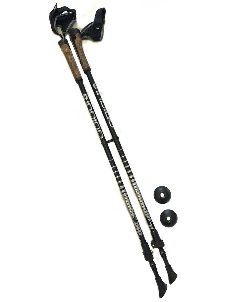Палки Indigo SL-602 85-135cm 2 секции Black