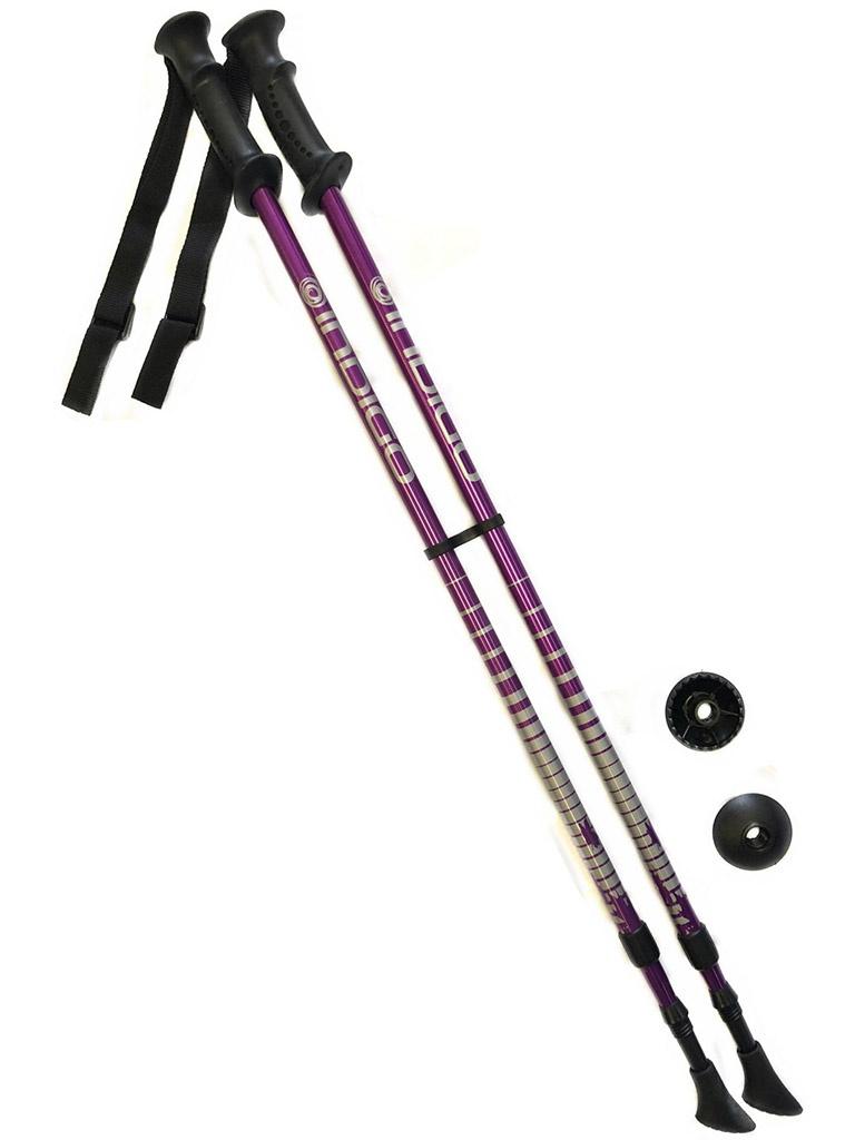 Палки Indigo SL-1-2 85-135cm 2 секции Purple