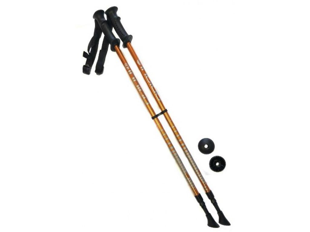 Палки Indigo SL-1-2 85-135cm 2 секции Orange