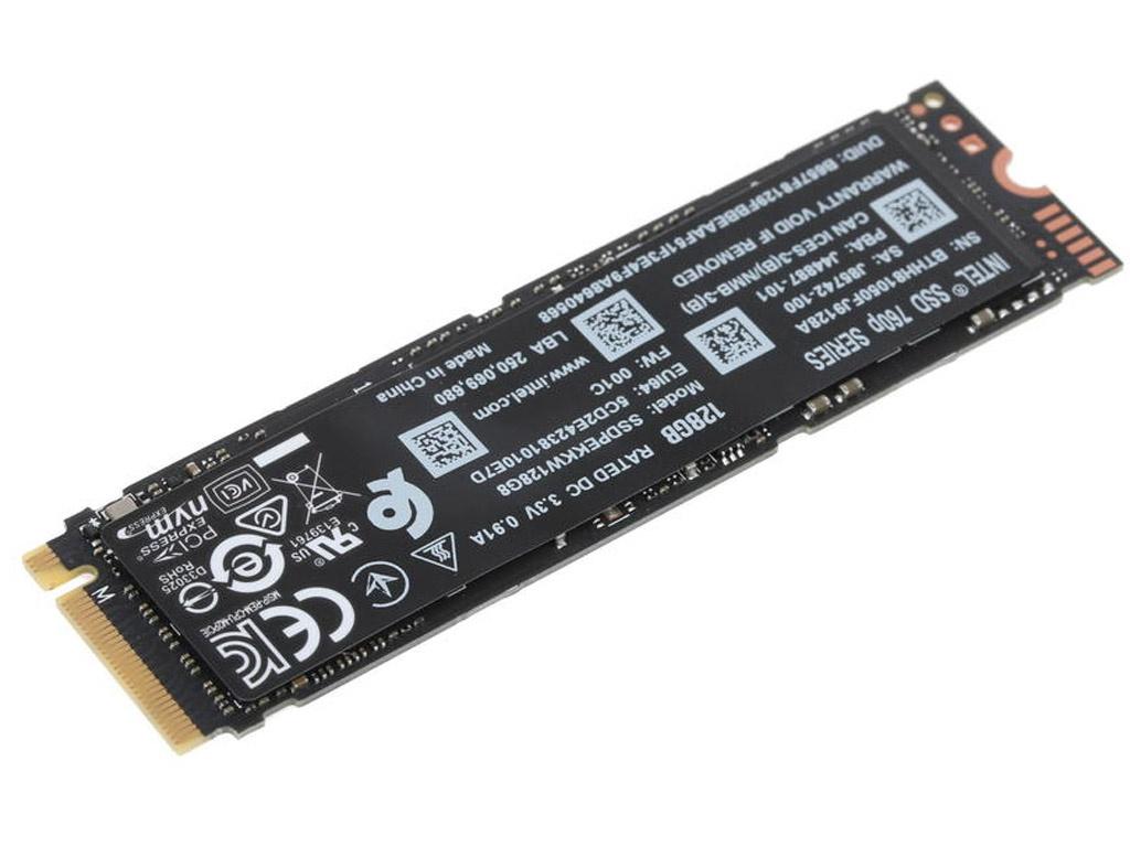 Твердотельный накопитель Intel 760p Series 128Gb SSDPEKKW128G801
