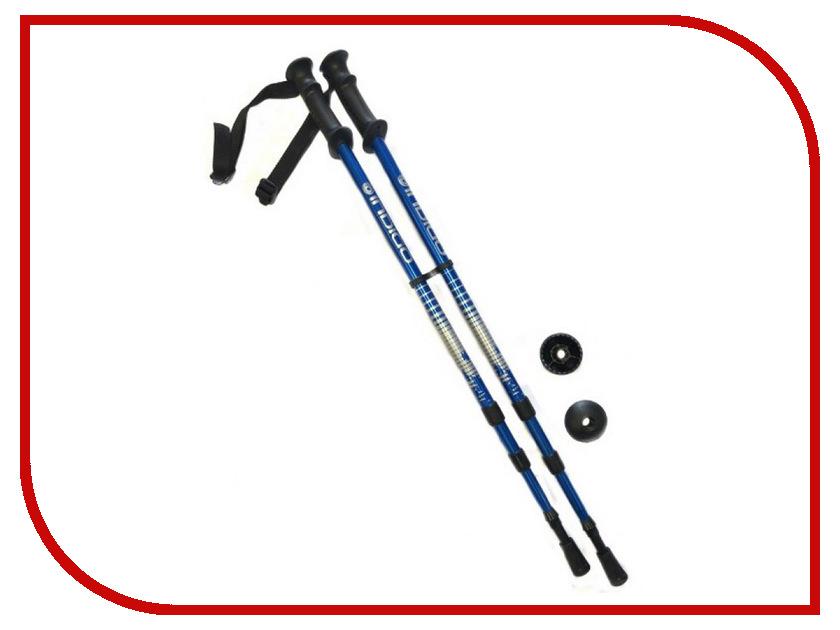Indigo - Палки Indigo SL-1-3 65-135cm 3 секции Blue