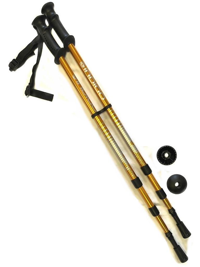 Палки Indigo SL-1-3 65-135cm 3 секции Gold