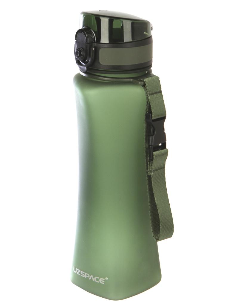 Бутылка Uzspace 6008 500ml Matt Green