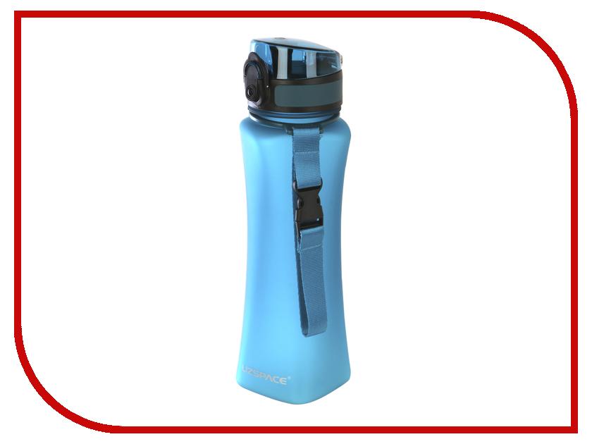 Бутылка Uzspace 6008 500ml Matt Turquoise mantra 6008