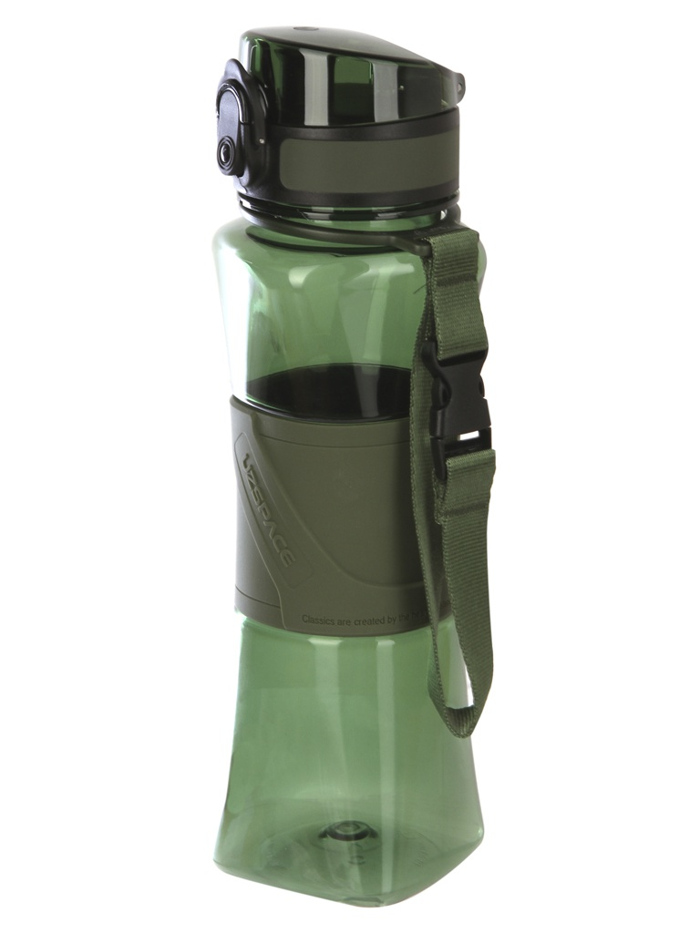 Шейкер Uzspace 6010 500ml Dark Green